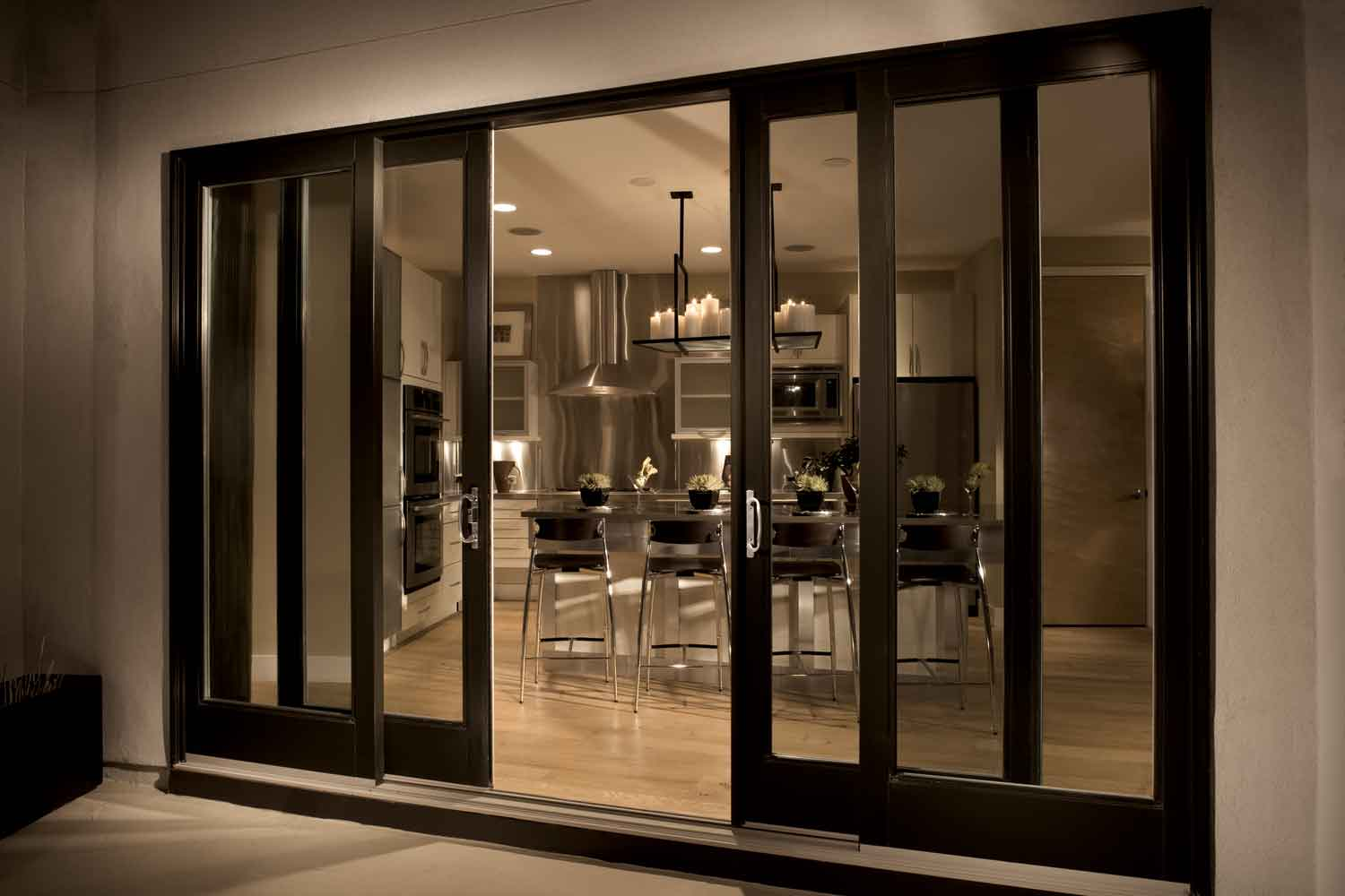 Sliding French Door Design