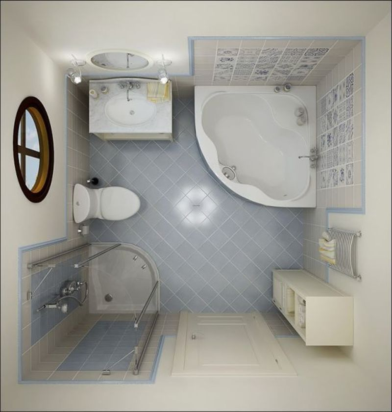 Small Bathroom Decoration Design