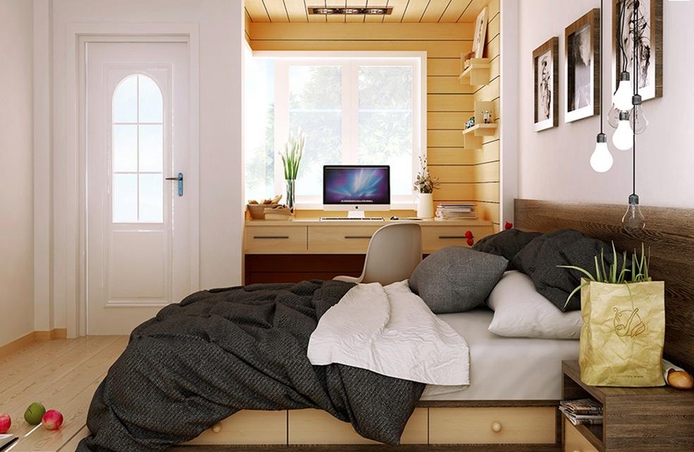 Computer Desk In Bedroom