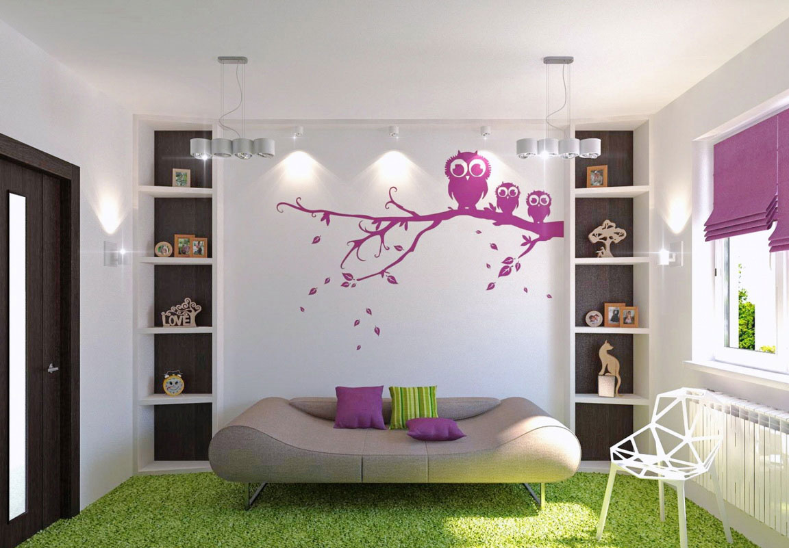 Teenage Girl Bedroom Wall Storage