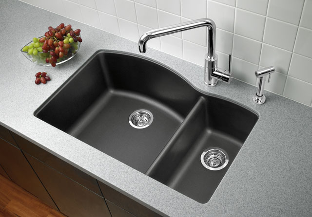 Unique Black Kitchen Sink Design