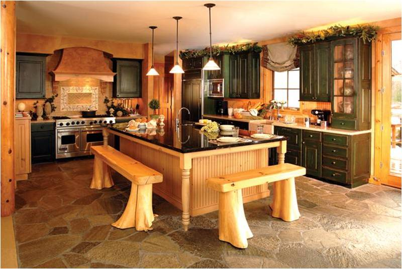 Unique Kitchen Designs Stunning With Rustic Kitchen Island Designs Pictures