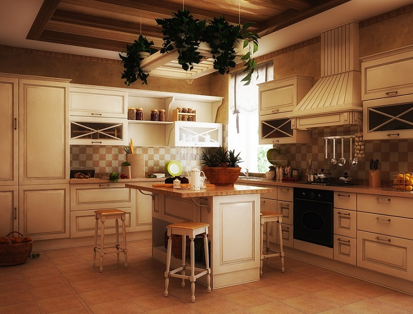 Unique Traditional Kitchen .... Grey Traditional Kitchen Design