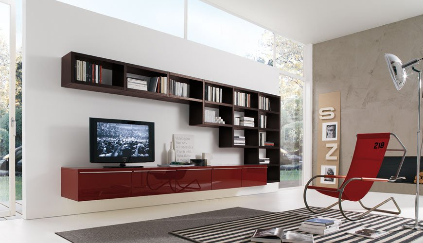 Perfect Wall Storage Shelves LED Cabinet Design · U003e Wall ...
