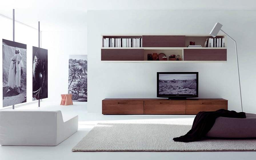 Wall Tv Cabinet Decorating Ideas · U003e Wall ...