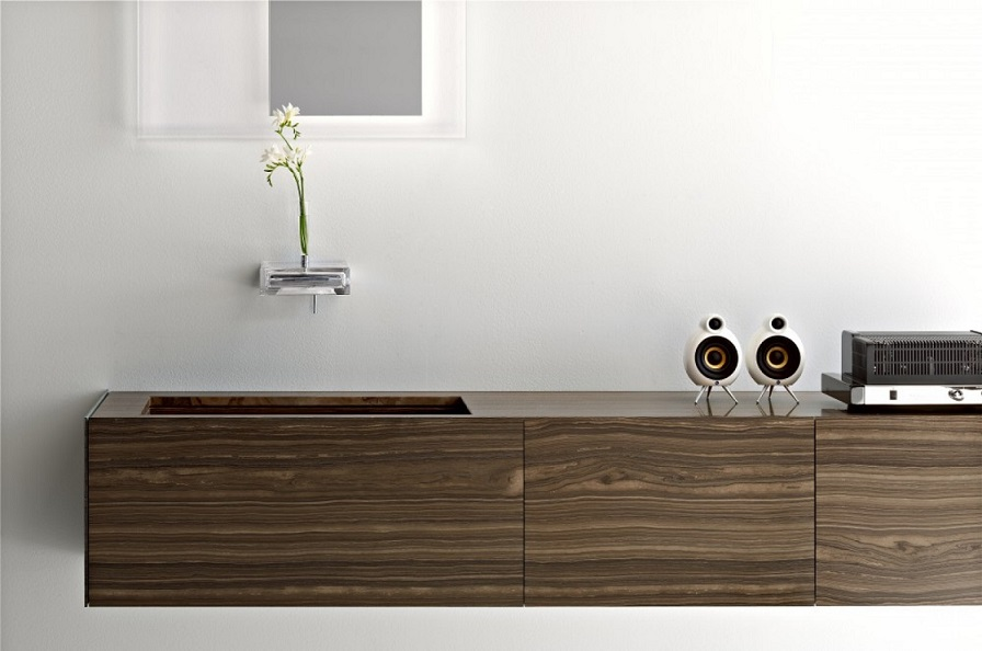 Walnut Vanity Design
