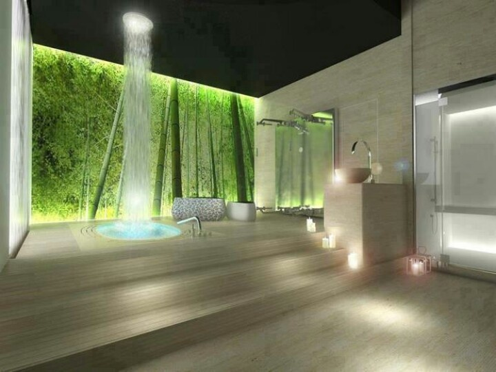 Waterfall Shower Design
