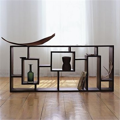 West Elm Geometric Storage Unit