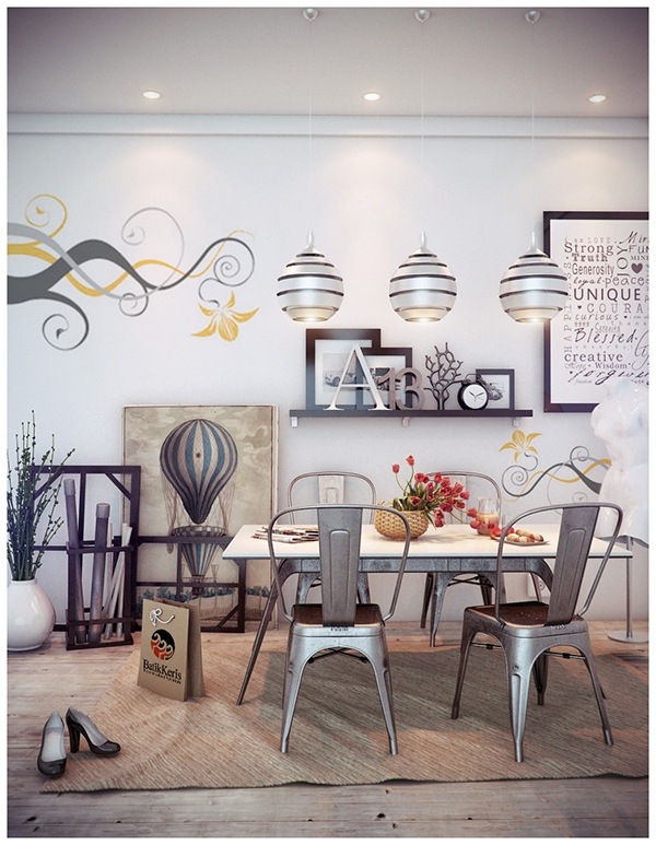 Whimsical Dining Room