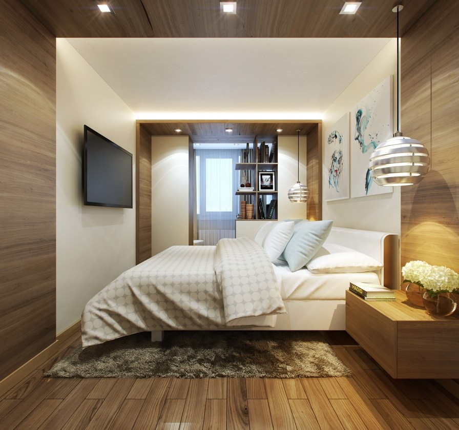 Wood Panelled Bedroom