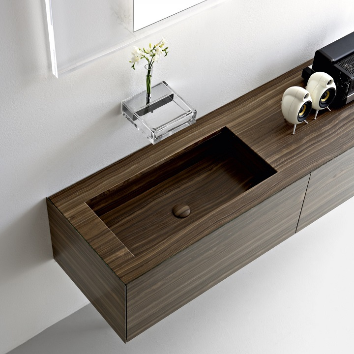 Wooden Basin Design