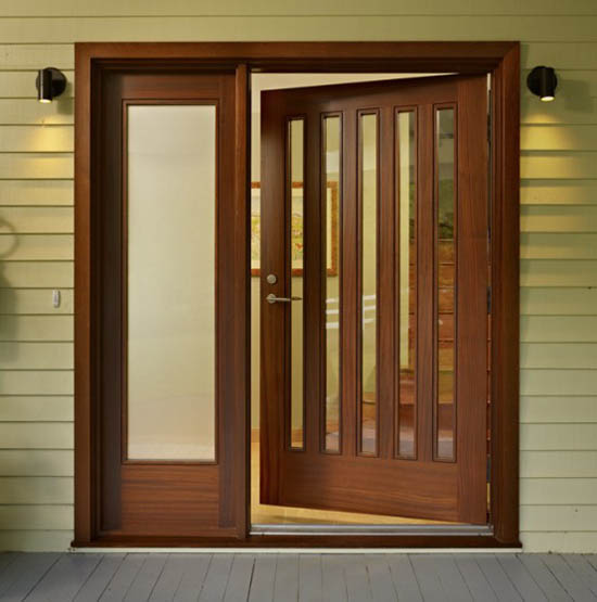 Modern doors design interior doors design al habib for Wooden door designs pictures
