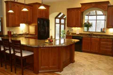 Luxurious Traditional Kitchen Design