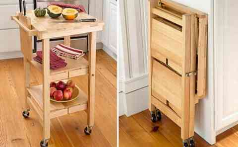 Space Saving Kitchen Furniture