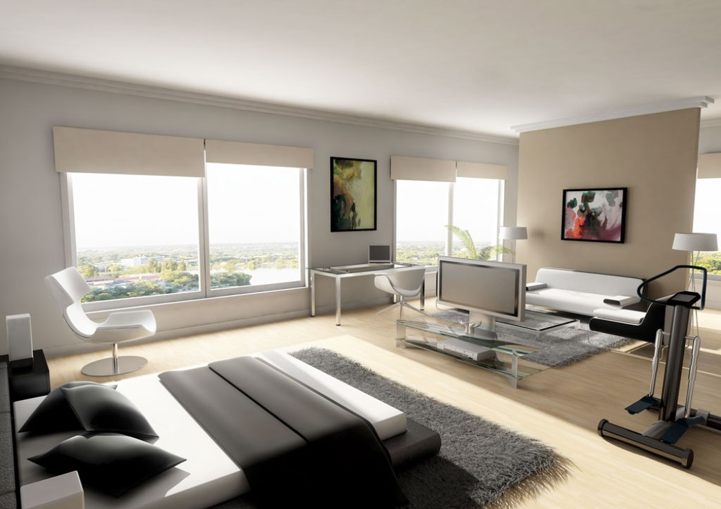 Modern Master Bedroom ...