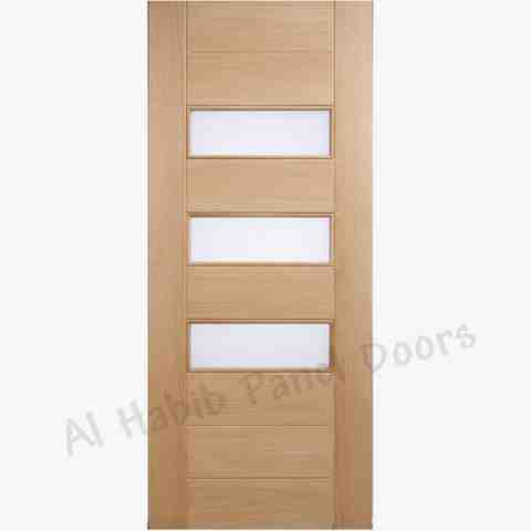 This is Red Oak Ply Pasting Glass Door. Code is HPD540. Product of Doors - Ash, Red oak London, America new ply pasting glass door design, Available on order in all sizes. You also can customize the design of door according to your idea . Al Habib