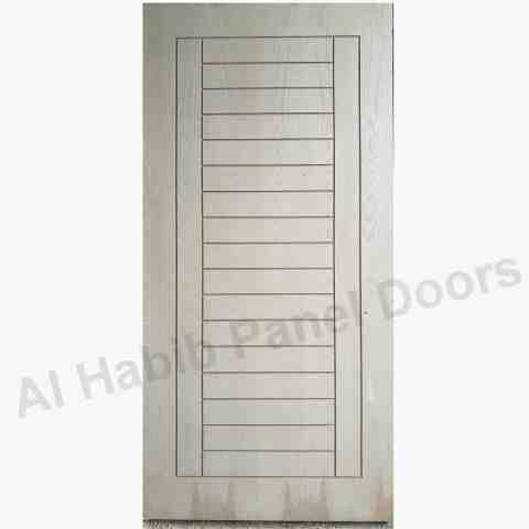 Ash Veneer Door With Router Design