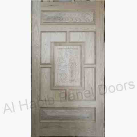 This is Dayar Wooden Front Door. Code is HPD458. Product of Doors - Solid dayar wooden 20 panel front door,  Ready on Order in Ash Wood, Kail Wood, pertal wood Al Habib