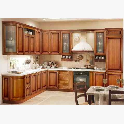 This Is Wooden Kitchen Cabinet. Code Is HPD455. Product Of Kitchen   Solid  Wood · U003e