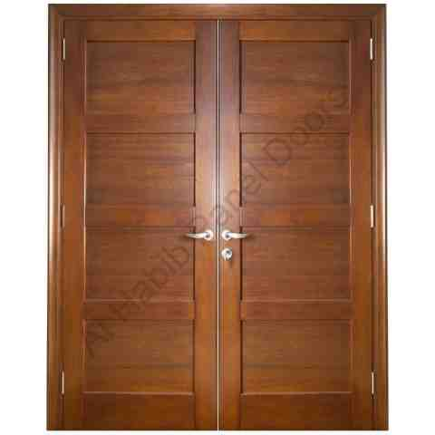 Main double door solid wood hpd402 main doors al habib for French main door designs
