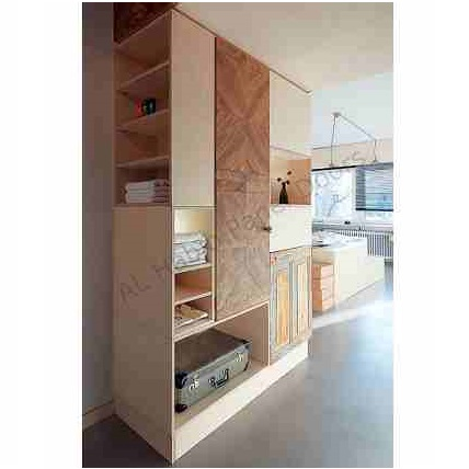 This is Bedroom Wood Cabinets. Code is HPD386. Product of Furniture - Bedroom fitted storage shelves, order now. Different design are available -  Al Habib