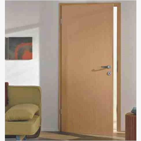Plain door hpd184 commercial doors al habib panel doors for Door design in pakistan
