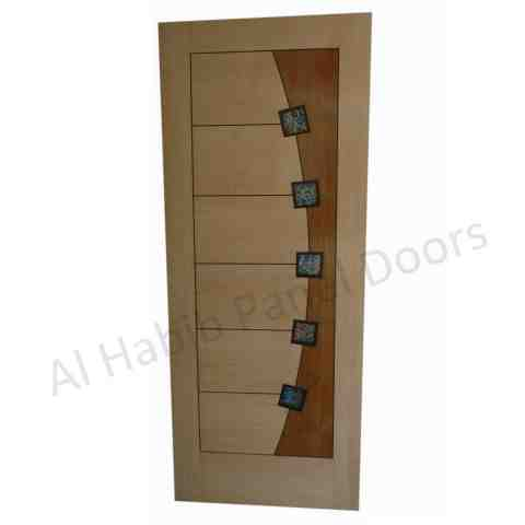 This is Ash Ply Pasting Stripes Door. Code is HPD503. Product of Doors - New variety of Diyar, Ash, Oak, Teak Ply pasting Stripes door now in Lahore, Pakistan. Different designs, for more visit our shop. All the variety of ply pasting door will be ready on order. Al Habib