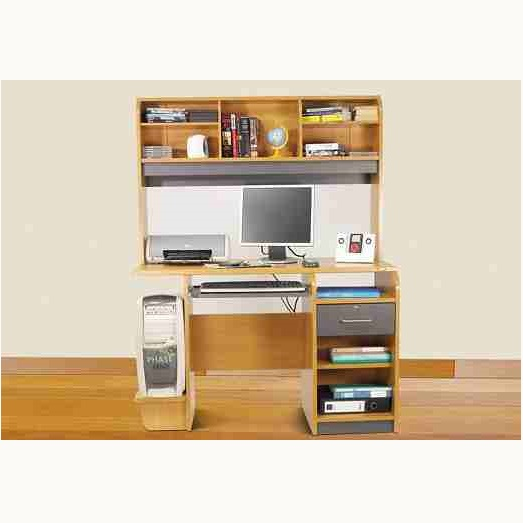 This is 2 Drawer Computer Table. Code is HPD291. Product of Furniture - Computer Table Furniture in Lahore, Pakistan, Computer table designs are available, Computer table with top, drawers, Storage shelves -  Al Habib