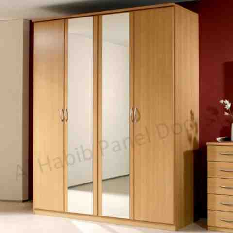 Free standing wardrobes hpd321 free standing wardrobes for 4 door wardrobe interior designs