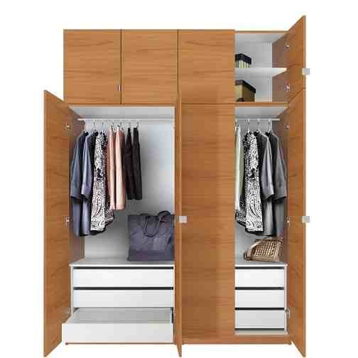 This is Standing 2 Door 2 Drawer Door Wardrobe. Code is HPD320. Product of Wardrobes - Free Standing wardrobes Furniture in Lahore, Pakistan, Free Standing wardrobes are available in different designs, 2 doors wardrobes, 3 doors wardrobes -  Al Habib