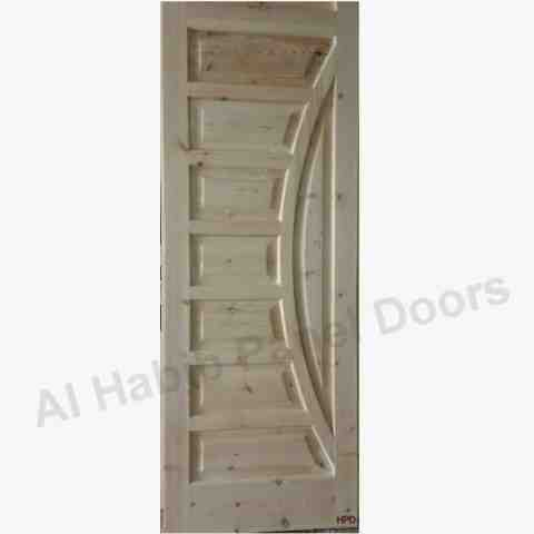 This is Wooden Door. Code is HPD465. Product of Doors - Wooden door is a door made of solid wood used to increase the life of door. Al Habib