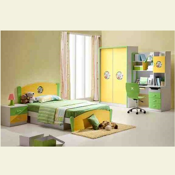 Furniture Design In Pakistan double beds kids room hpd210 - kids furniture - al habib panel doors