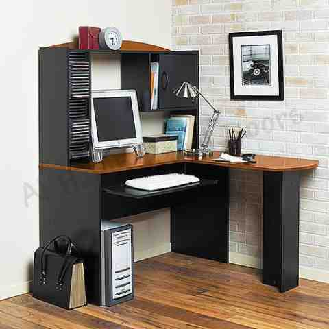 This is Computer Table. Code is HPD290. Product of Furniture - Computer Table Furniture in Lahore, Pakistan, Computer table designs are available, Computer table with top, drawers, Storage shelves -  Al Habib