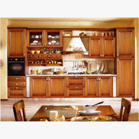 This is Ash Wood Kitchen Cabinets. Code is HPD350. Product of kitchen - Kitchen Cabinets Design in Lahore, Pakistan, Laminated Kitchen Cabinets, UV boards kicthen cabinets, Solid wood kitchen cabinets -  Al Habib