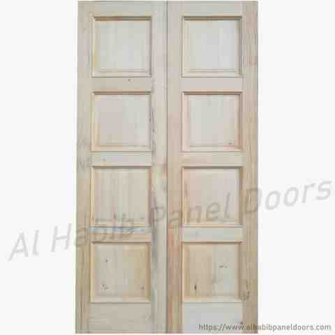 This is Solid Wood Main Double Door. Code is HPD110. Product of Doors - Solid Wooden Main Doors in Pakistan, Spain, England, Main Doors, Double Door, Dayyar Wooden Main Doors, Ash Wood Main Doors, 6 Panel Double Door -  Al Habib