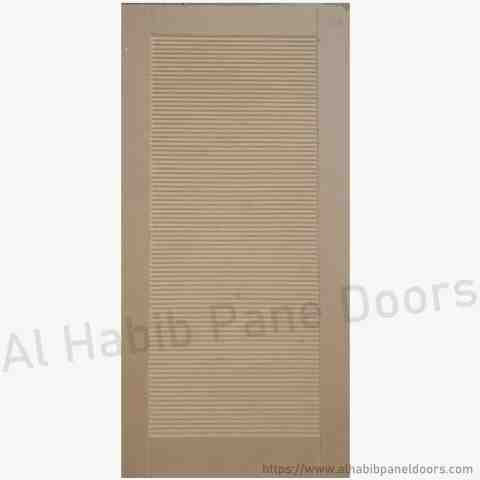 This is Plain Mdf Double Door Grooves Design. Code is HPD651. Product of Doors - Beautiful plain mdf double door design, Modern Door design. Grove design on door. Also available in ash mdf. All sizes will be ready on order. Al Habib
