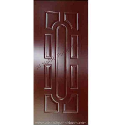 Teak Sagwan Skin Round Panel Door Hpd133 Panel Skin