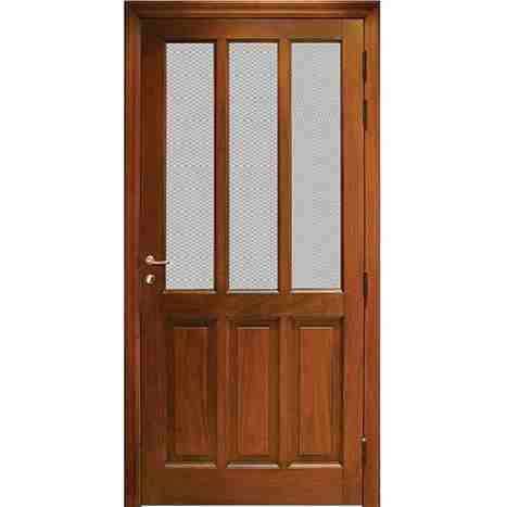 Wood wire mesh door hpd165 mesh panel doors al habib for Door design in pakistan
