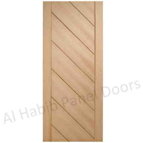 This is Ply Pasting Moon Stripes Door. Code is HPD502. Product of Doors - New variety of Diyar, Ash, Oak, Teak Ply pasting Stripes door now in Lahore, Pakistan. Different designs, for more visit our shop. All the variety of ply pasting door will be ready on order. Al Habib