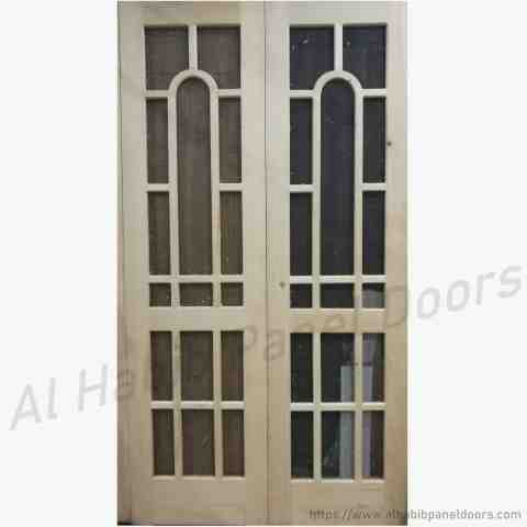 This Is Ash Wooden Mesh Jali Double Door Code Is Hpd Product Of  C B