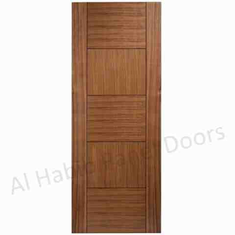 Oak ply pasting door hpd500 ply pasting doors al habib for Plywood door design