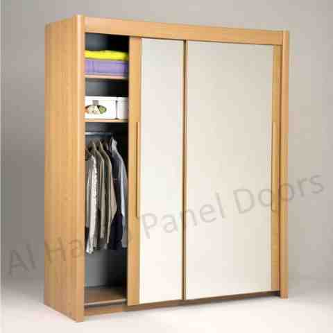 This is Fixed Wardrobe With Sliding Doors. Code is HPD436. Product of Wardrobes - Modern Fancy Storage Solutions With Wooden Sliding Wardrobes Ready on Order Al Habib
