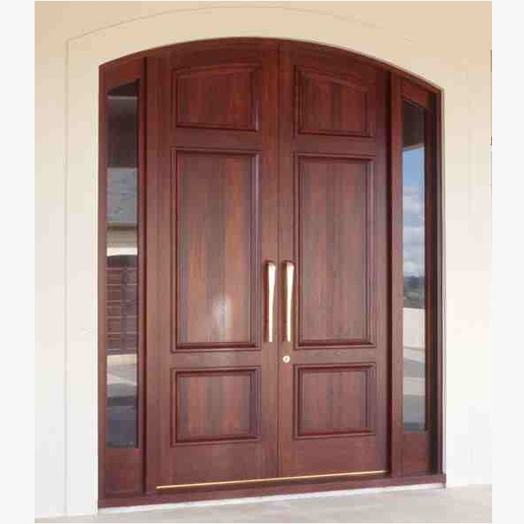 Pakistani kail solid wood double door hpd410 main doors for Door design in pakistan