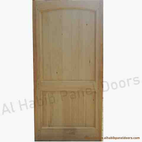 Ash wood door with frame hpd416 solid wood doors al for Solid wood front doors