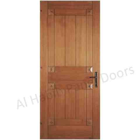 Ash wood ply pasting door hpd496 ply pasting doors al for Latest wooden door designs 2016
