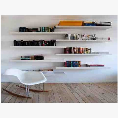 This is Long Wall Storage Book Shelves. Code is HPD385. Product of Furniture - Storage Shelves Furniture in Lahore, Pakistan, Storage Shelves design are available, Book Shelves, Tree shaped shelves -  Al Habib