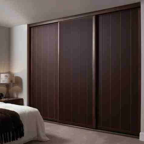 This is Fitted Sliding Door Wardrobe. Code is HPD439. Product of Wardrobes - Fitted wardrobe with two slide doors, ready on order Al Habib