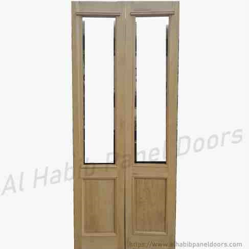 Glass Wood Door Hpd176 Glass Panel Doors Al Habib Panel Doors
