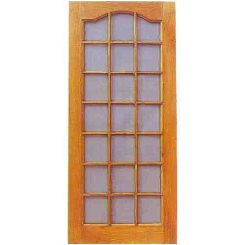 ash wooden mesh double door hpd512 - mesh panel doors