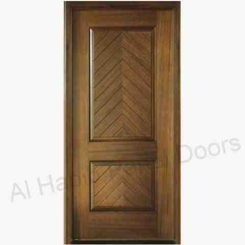 This is Solid Panel Door. Code is HPD325. Product of Doors - Solid Wooden Doors in Pakistan, India, UK. Wooden Doors, Wooden Panel Door. Solid Wood panel door avaiable in Dayar Wood, Kail Wood, Ash Wood. -  Al Habib